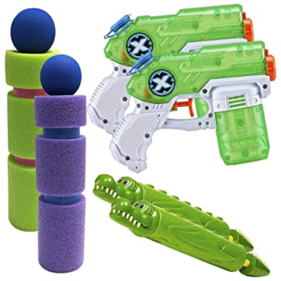 Party City Summer Water Shooters Kit, Backyard Fun Supplies, Includes Water Blasters and Water Gun: Kitchen & Dining