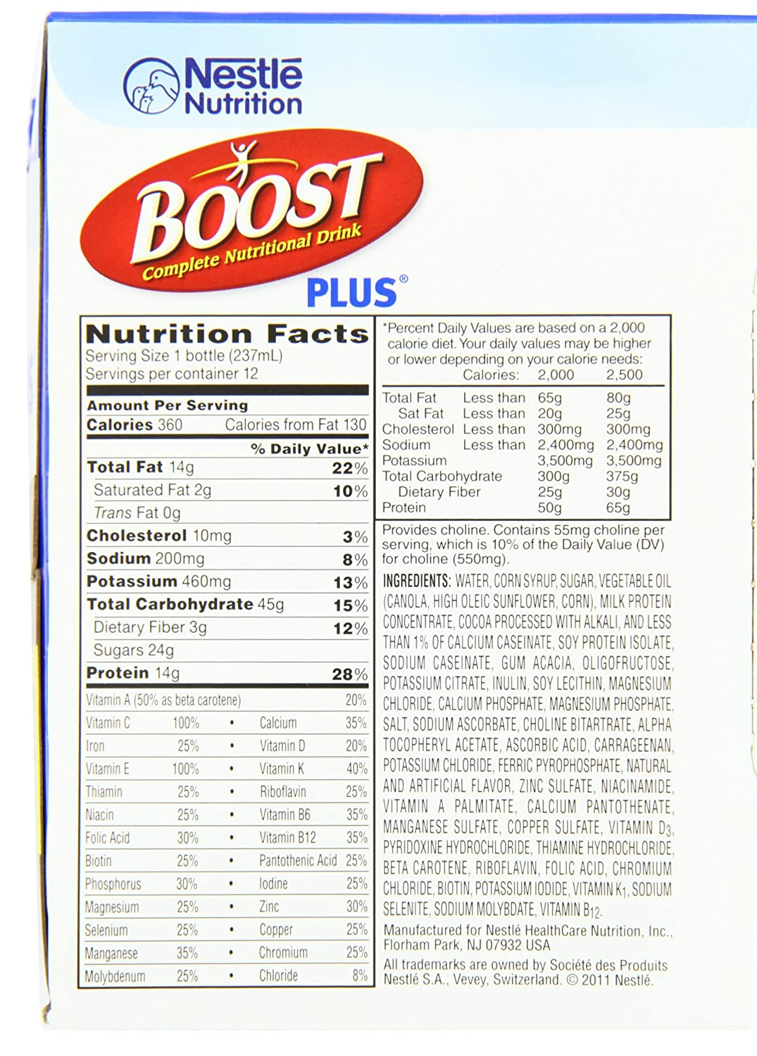 Rx Bars Nutritional Information