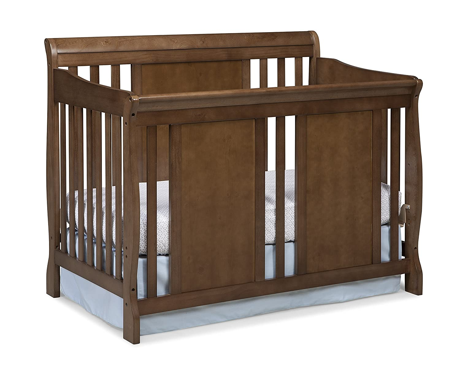 Amazon Com Stork Craft Verona Convertible Crib Dove Brown Baby