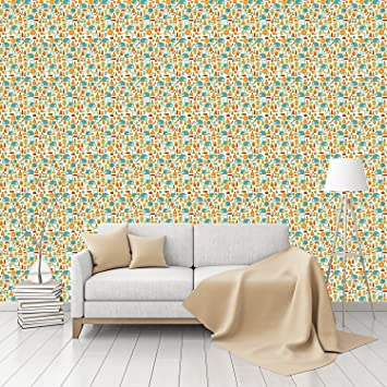Ladies Summer Sale Patterned Peel Stick Smooth Wallpaper By CustomWallpaper