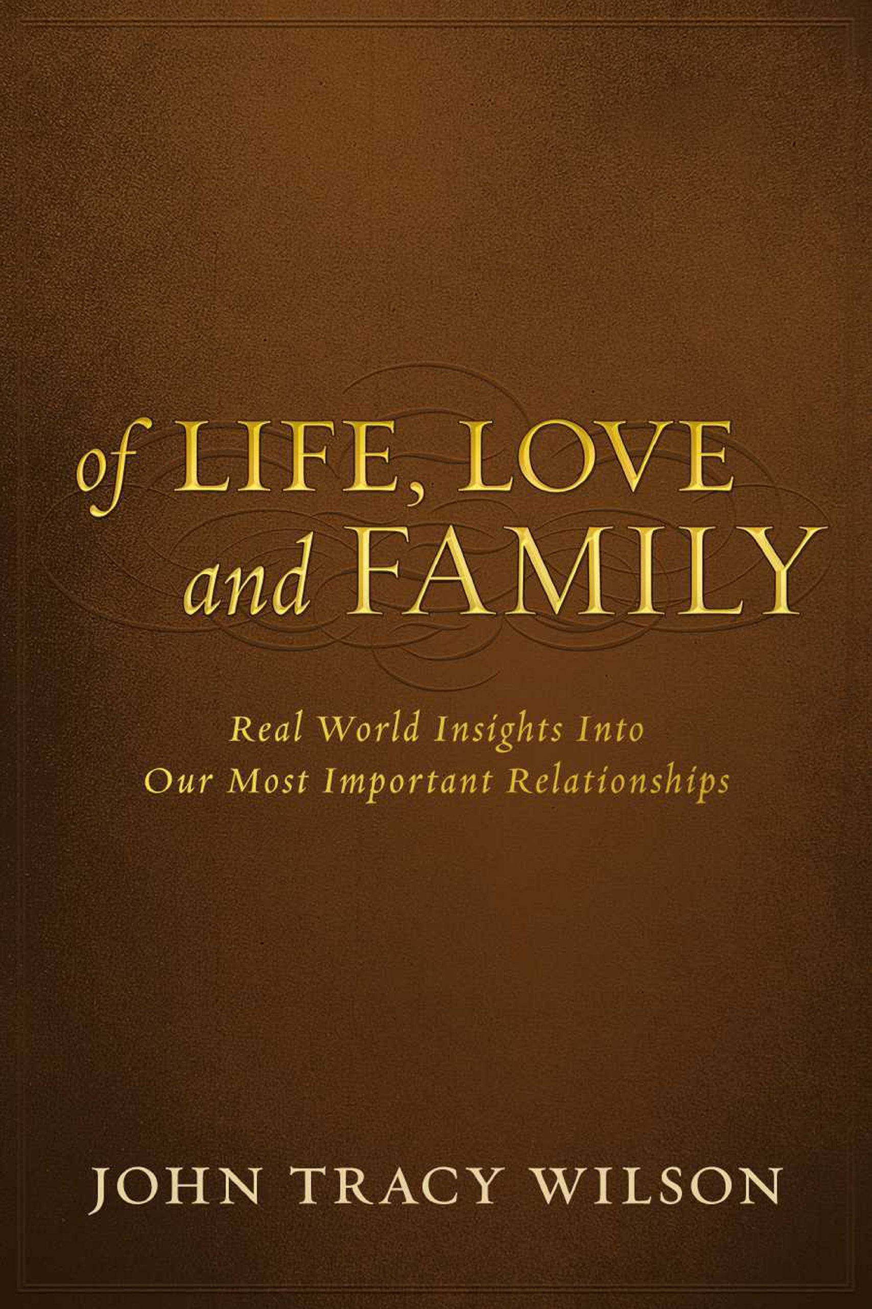 Of Life, Love and Family pdf