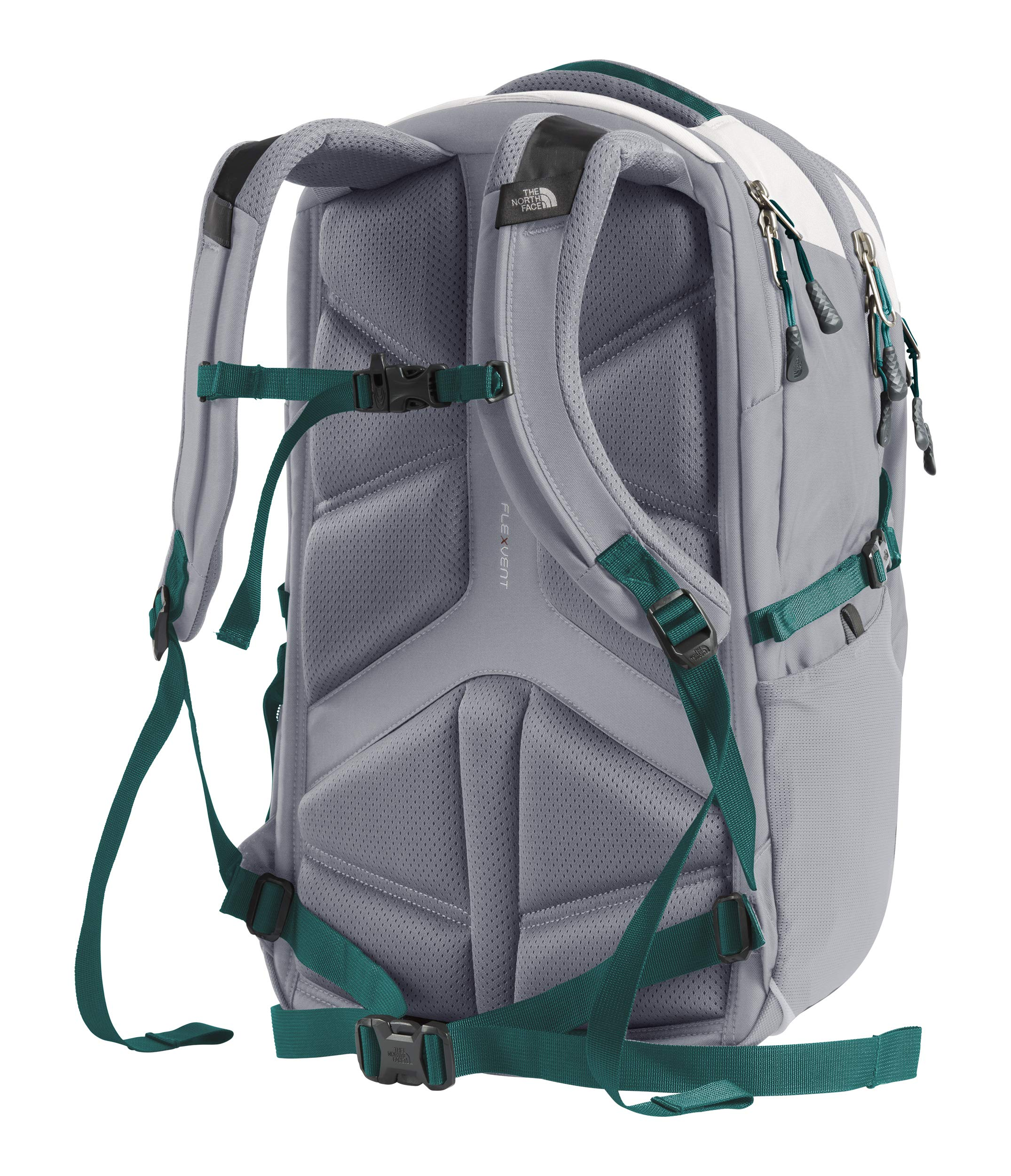 The North Face Women's Borealis Laptop Backpack - 15'' (Tin Grey/Mid Grey) by The North Face (Image #3)