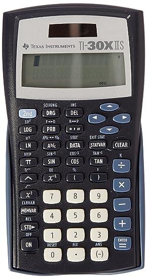 Texas Instruments Ti 30x Iis Calculators Pocket Scientific