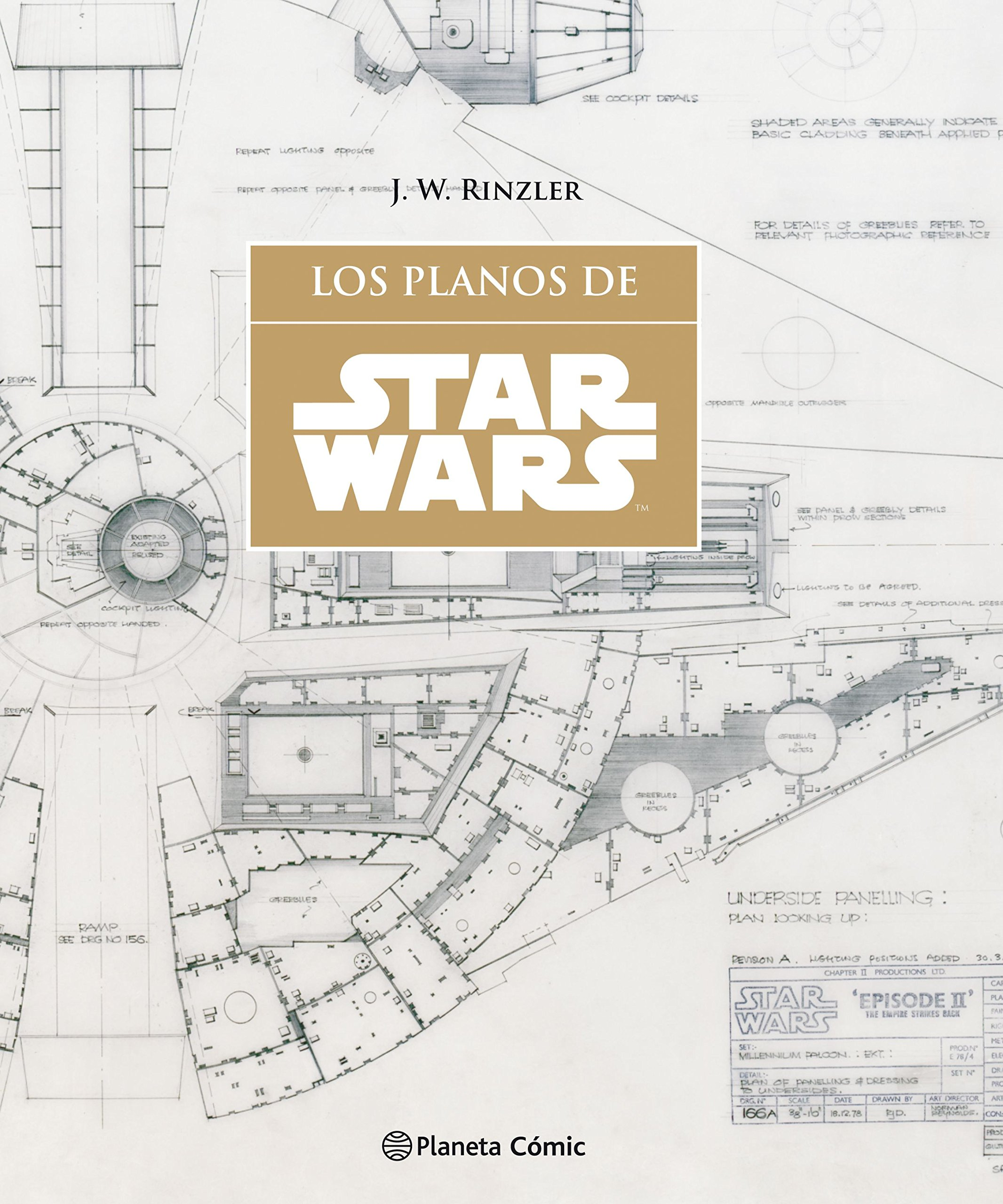 Star Wars Los planos SW Blueprints Star Wars: Guías Ilustradas: Amazon.es: Rinzler, Jonathan W., Bentz, Ignacio: Libros