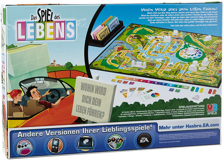 Hasbro 14529100 Spiel Des Lebens 2004 Edition Amazonde Spielzeug