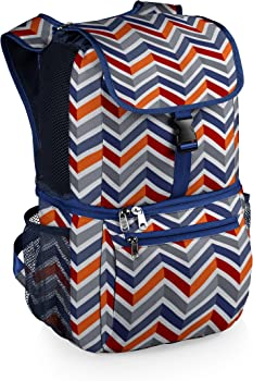 #10 Picnic Time 'Pismo' Insulated Cooler Backpack, Waves Collection