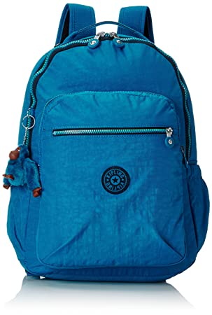 Kipling - SEOUL UP - Mochila grande - Blue Green Mix - (Azul): Amazon.es: Equipaje