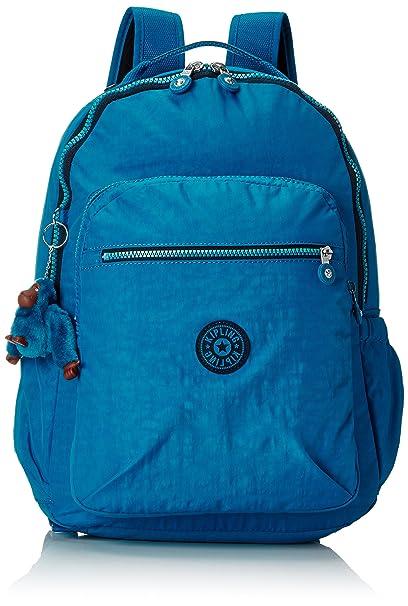 607951f62a Kipling - SEOUL UP - Large Backpack - Blue Green Mix - (Blue)  Amazon.co.uk   Luggage