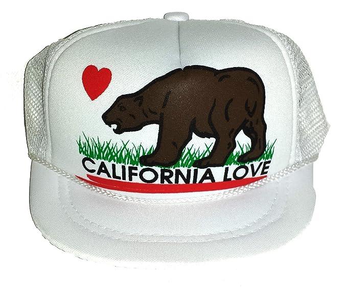 Amazon.com  Baby Infant Newborn California Love Mesh Trucker Hat Cap ... a739d8a3bf1