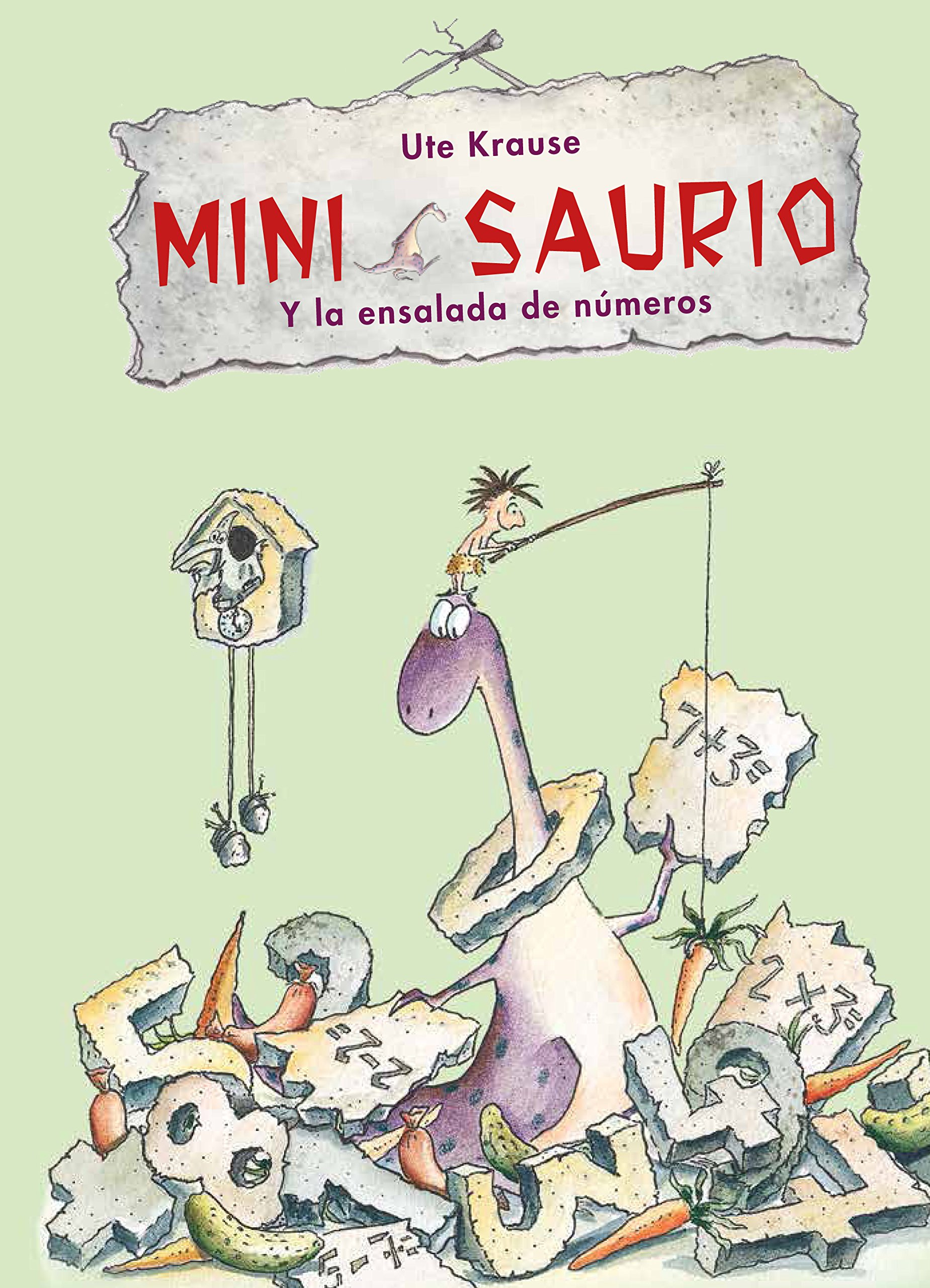 Download Mini Saurio y la ensalada de números / Mini Saurus and the Number Salad (Spanish Edition) PDF