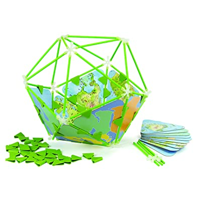 Hape Architetrix Bamboo Globe Toddler Building Set: Toys & Games