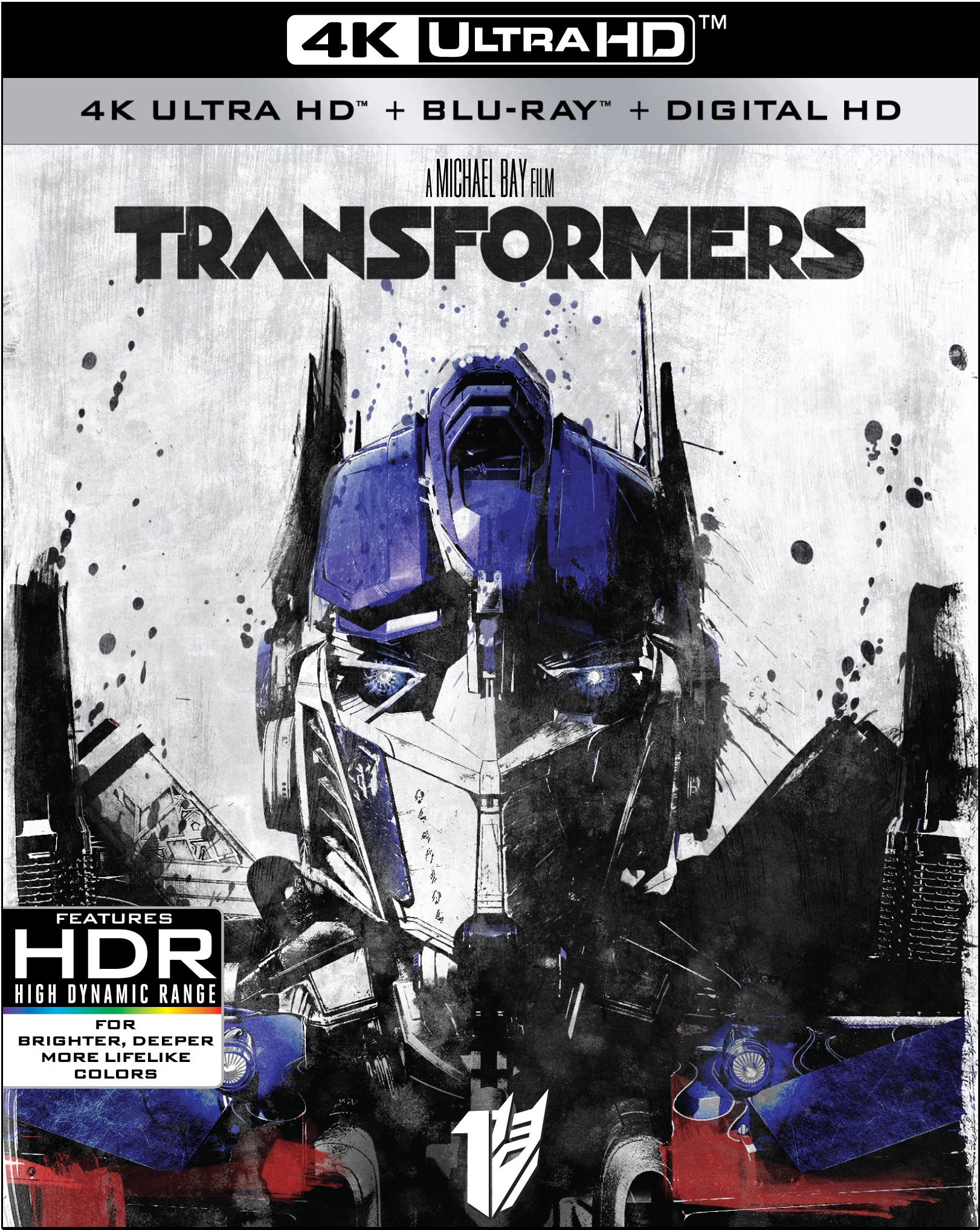4K Blu-ray : Transformers (With Blu-Ray, 4K Mastering, Widescreen, Dubbed, )