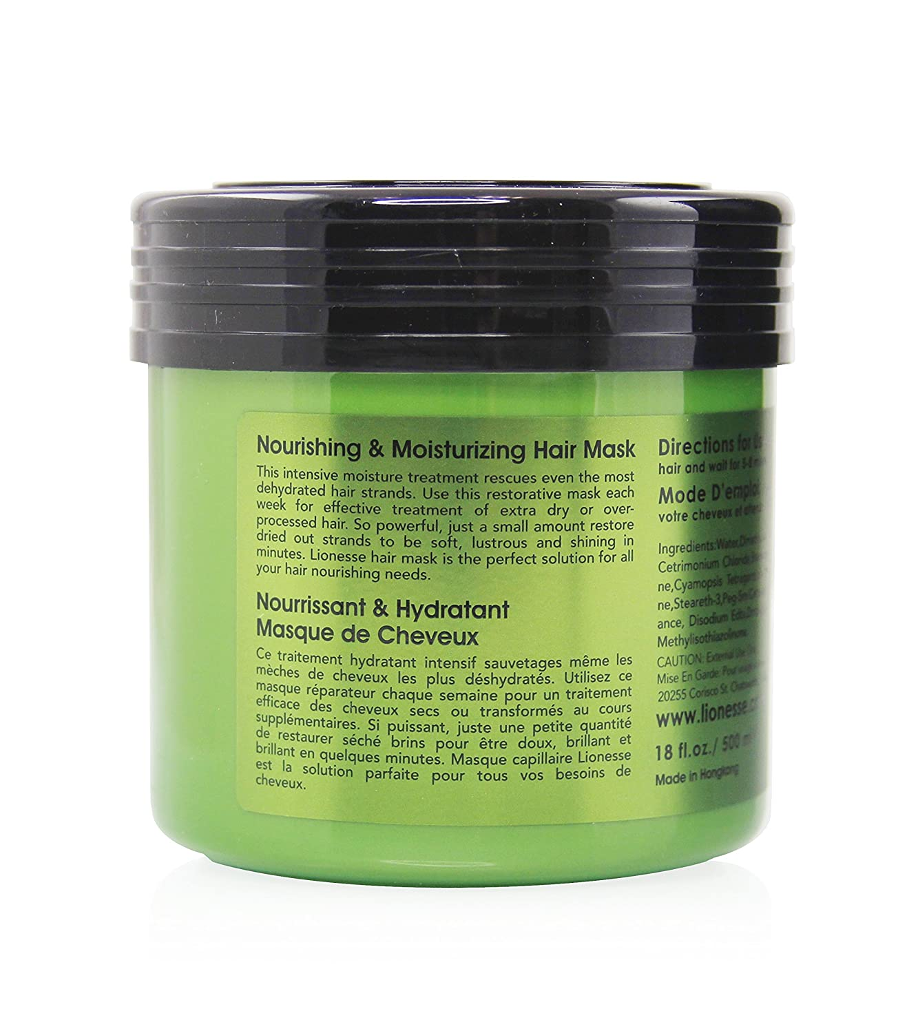 Amazon Com Lionesse Deep Conditioning Hair Mask Hair Repair Mask