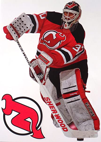 the best attitude 8c33a 0bf4f Amazon.com : Martin Brodeur Mini FATHEAD + New Jersey Devils ...