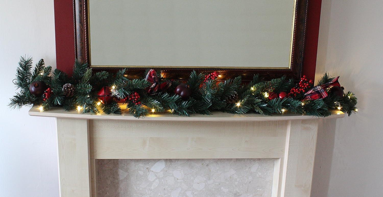 christmas garland traditional christmas garland ideal
