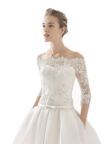 d15b59820158 Abito da sposa dalla linea svasata ROSA CLARA  - Mod. NARCISO ...
