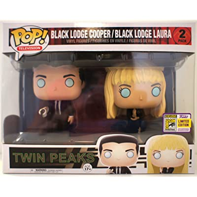 Twin Peaks Funko POP! TV Black Lodge Cooper & Laura Exclusive Vinyl Figure: Toys & Games [5Bkhe0502955]