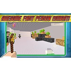 Block Cube Battle Gun Survival: Shooter FPS Game: Amazon.es ...