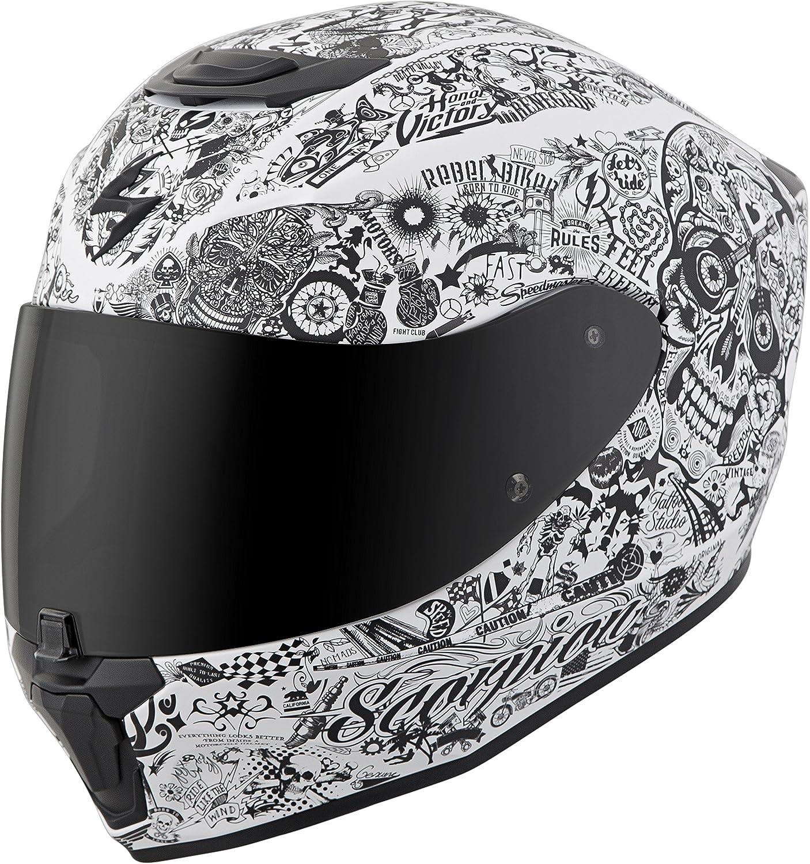 Matte Black Scorpion EXO-R420 Helmet Small