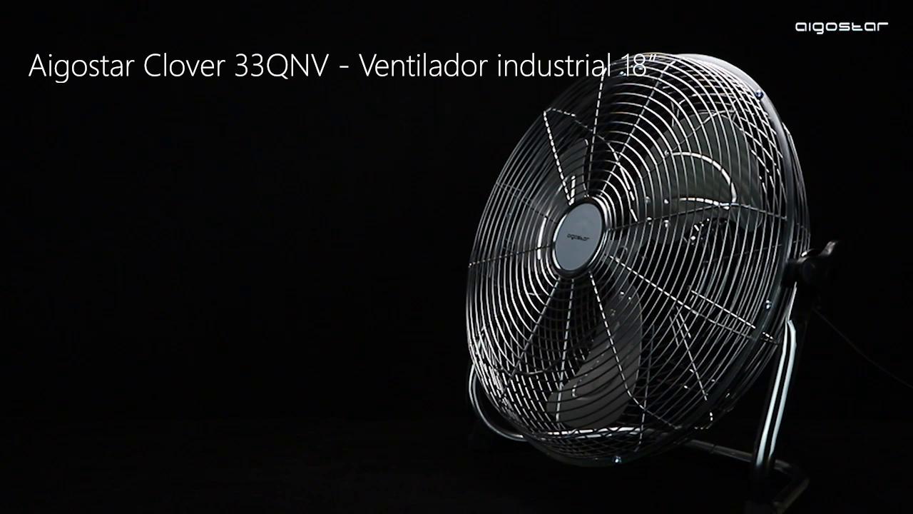 Aigostar Clover 33QNV - Ventilador industrial, 110 W, 3 ...