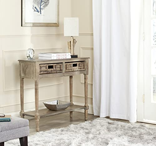 Safavieh American Homes Collection Corbin Brown Console Table