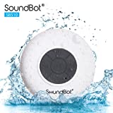 Amazon Price History for:SoundBot® SB510 HD Water Resistant Bluetooth 3.0 Shower Speaker, Handsfree Portable Speakerphone with Built-in Mic, 6hrs of playtime, Control Buttons and Dedicated Suction Cup for Showers, Bathroom, Pool, Boat, Car, Beach, & Outdoor Use (White)