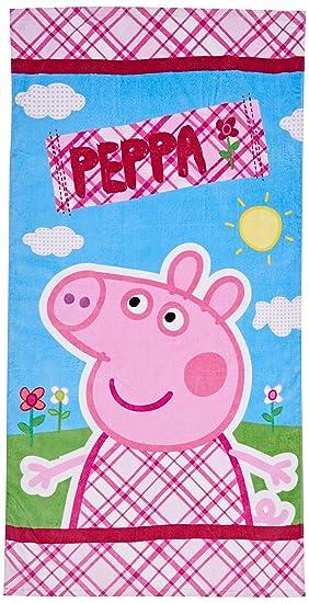 EONE Peppa Pig ABB3515 - Toalla de playa, 70 x 140 cm