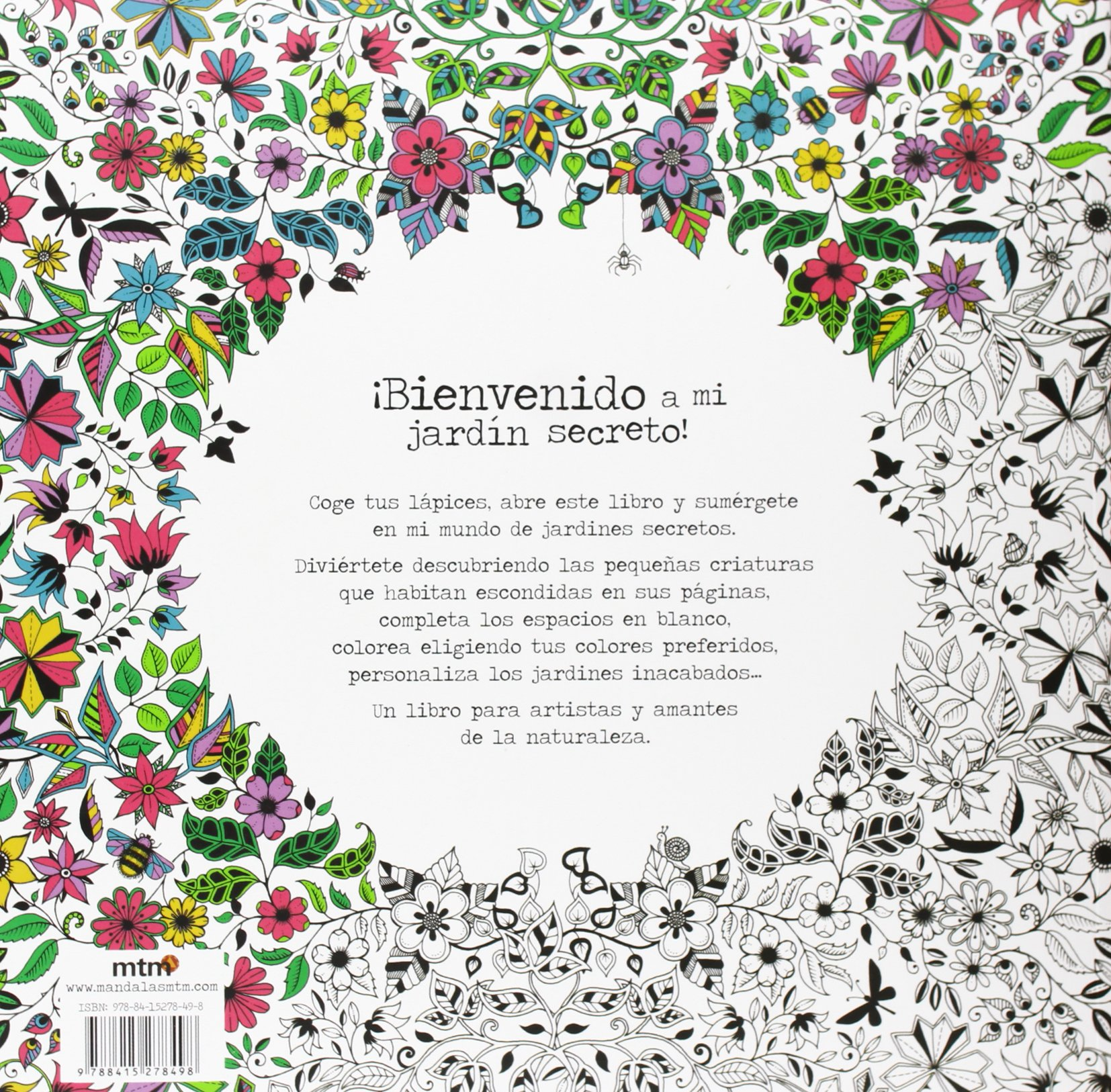 El jardín secreto: Colorea y encuentra los tesoros escondidos: Amazon.es: Basford, Johanna: Libros