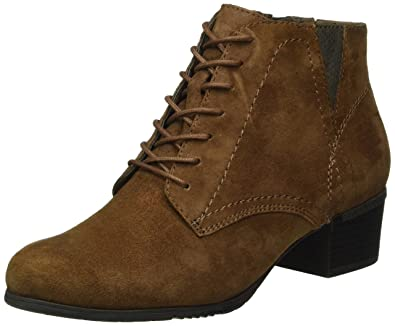 Jana Damen 25100 Chelsea Boots, Braun (Cafe Suede 362), 38 EU