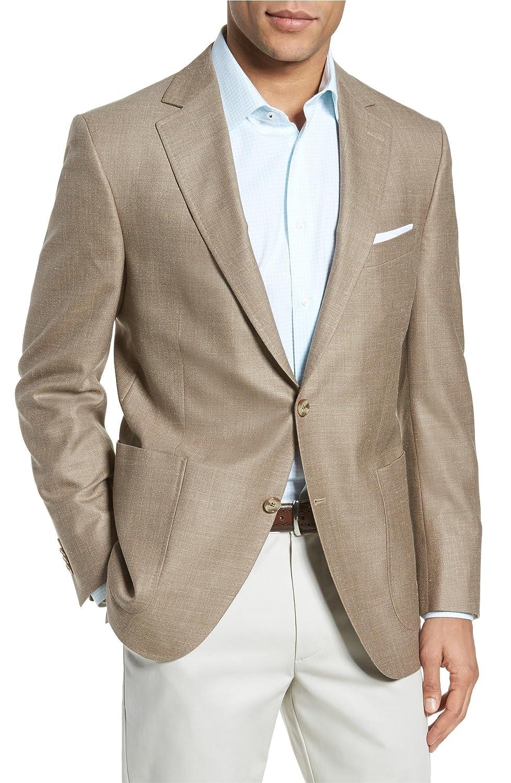[ピーターミラー] メンズ ジャケットブルゾン Peter Millar Classic Fit Wool Blend Blaz [並行輸入品] B07FGF9JZB 44 Regular
