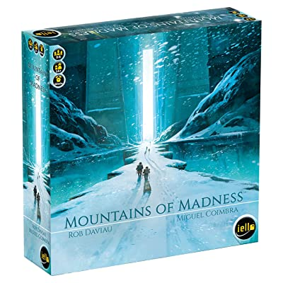IELLO Mountains of Madness Strategy Board Game: Toys & Games
