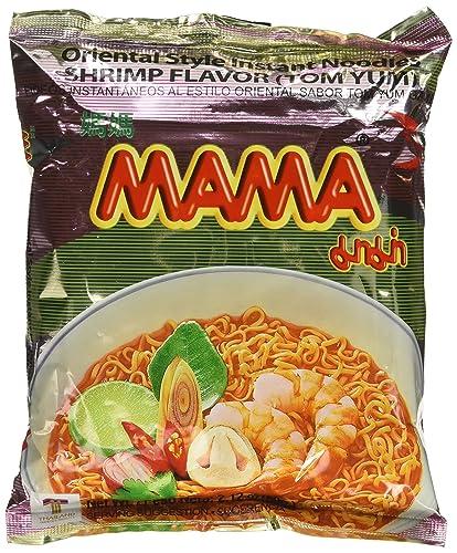 Mama Instant Ramen Noodle, Tom Yum Shrimp Flavour