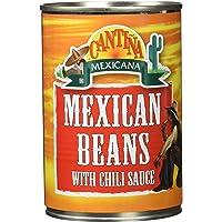 Cantiña Mexicana Frijoles Mexicanos con Salsa de Chile