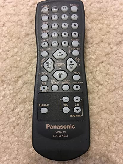 Panasonic LSSQ0264 VCR//TV Universal Remote Control New