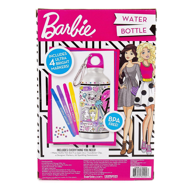 Amazon barbie by horizon group usa water bottle assorted toys amazon barbie by horizon group usa water bottle assorted toys games solutioingenieria Choice Image