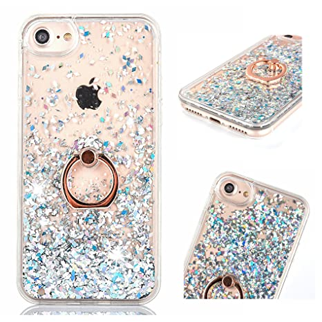 coque iphone 8 paillette antichoc