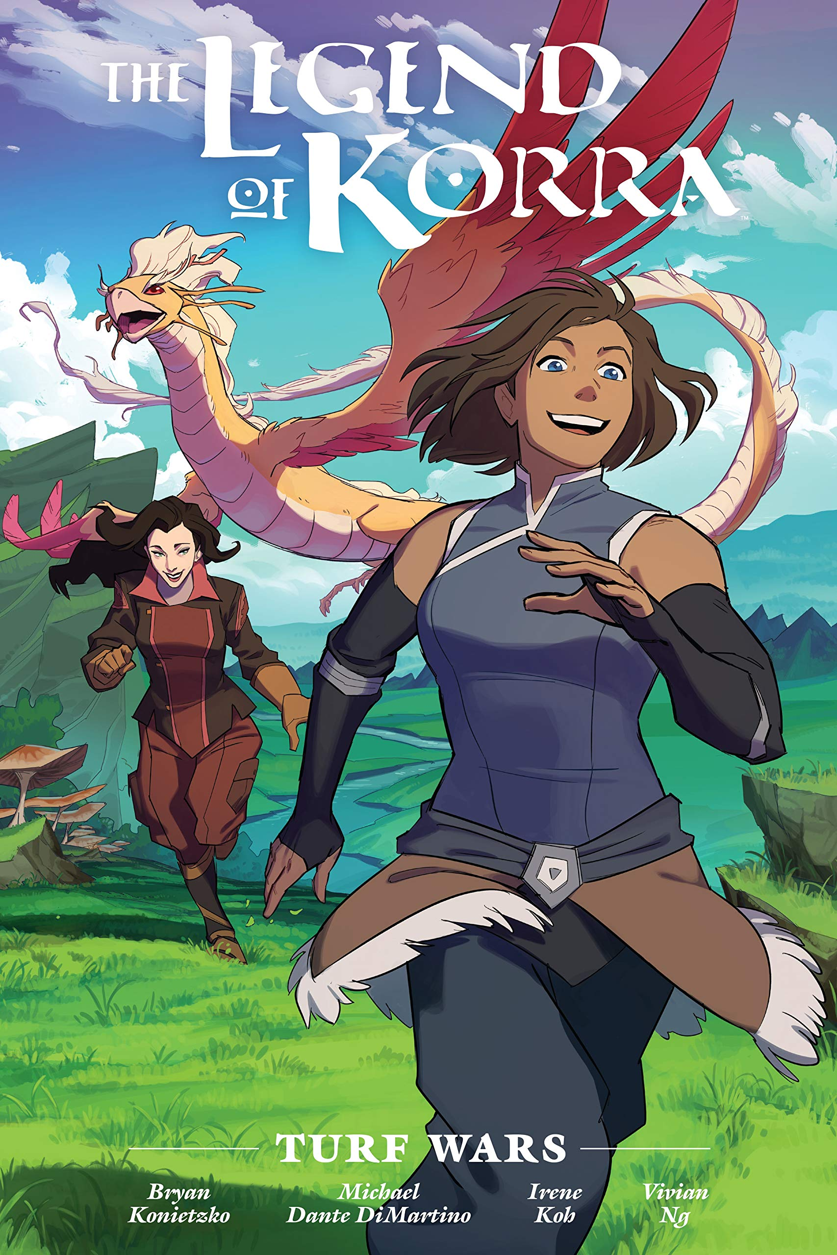 The Legend of Korra: Turf Wars Library Edition by Nickelodeon