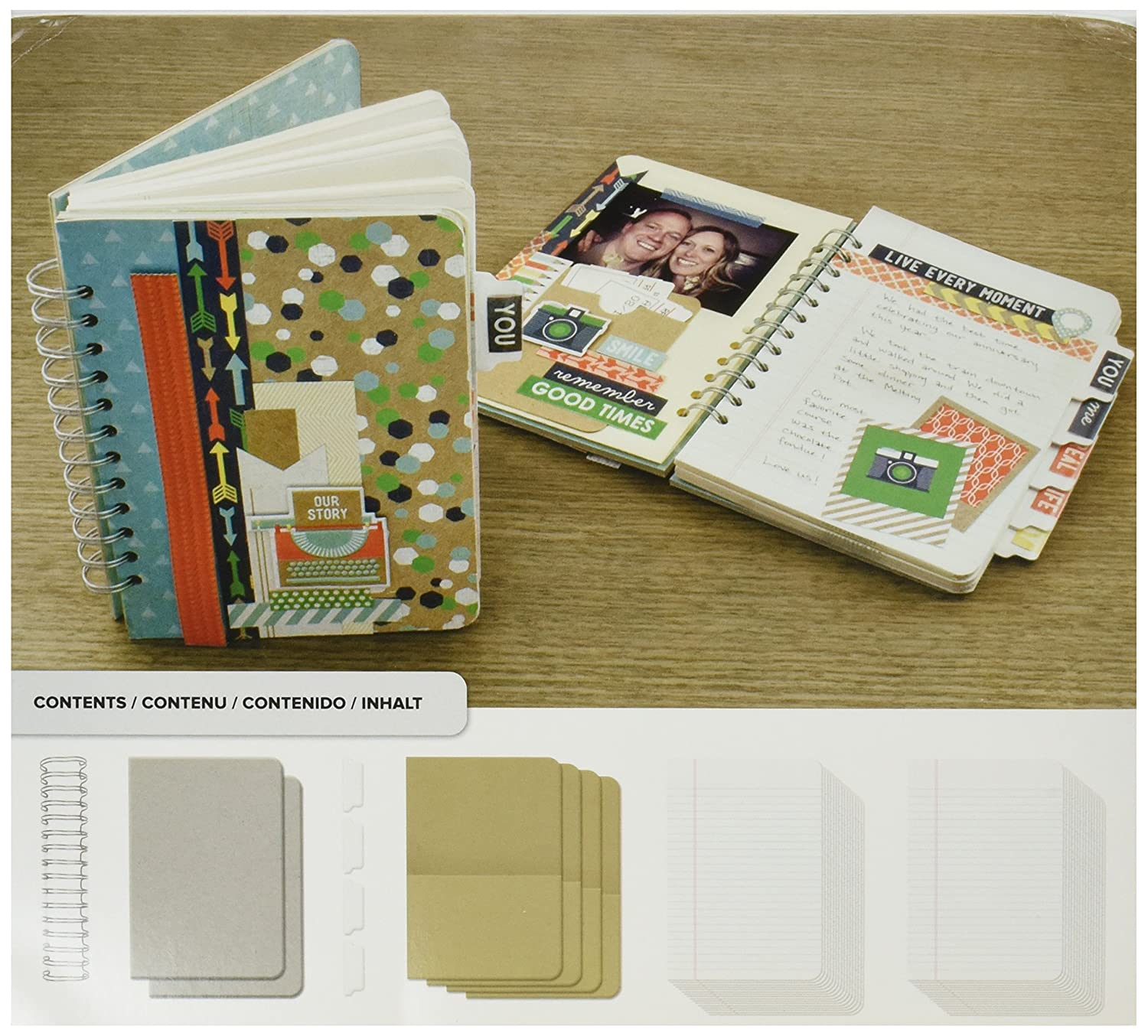 We R Memory Keepers Cinch Kit Journal American Crafts 62363