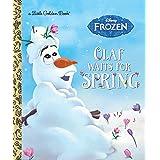 Olaf Waits for Spring (Disney Frozen) (Little Golden Book)