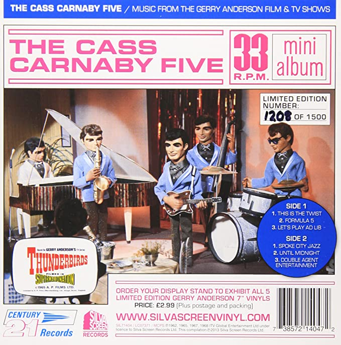 Music From The Gerry Anderson Film TV Shows 7 Vinyl Amazoncouk