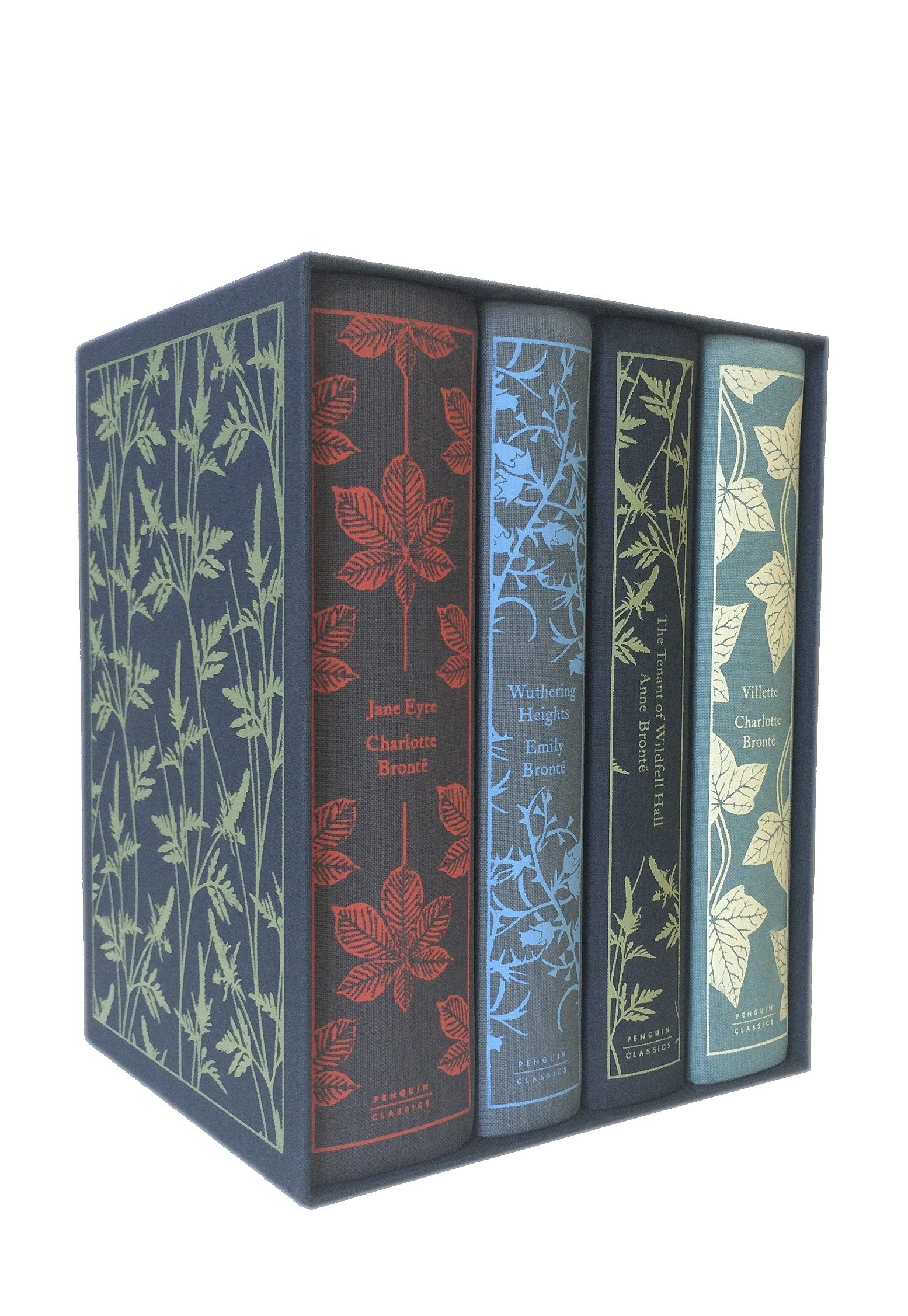 The Brontë Sisters Boxed Set: Jane Eyre, Wuthering Heights, The Tenant of Wildfell Hall, Villette (Penguin Clothbound Classics) by imusti