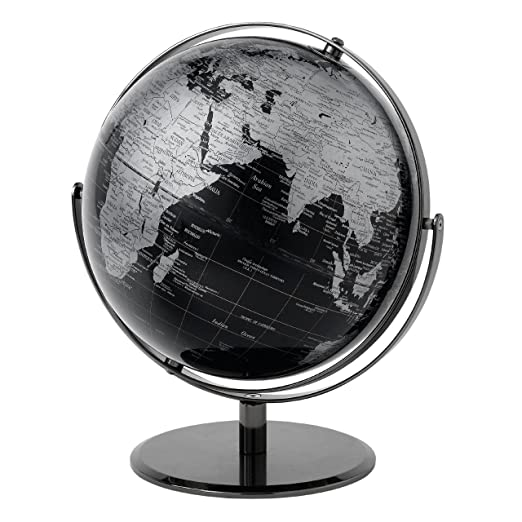 24 opinioni per Globe Collection Mappamondo, Black, 30 cm