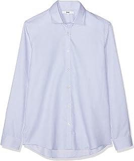 Marca Amazon - find. Camisa de Cuadros Ajustada para Hombre: Amazon.es: Ropa y accesorios