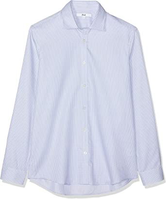 Marca Amazon - find. Slim Oxford - Camisa Hombre: Amazon.es: Ropa y accesorios