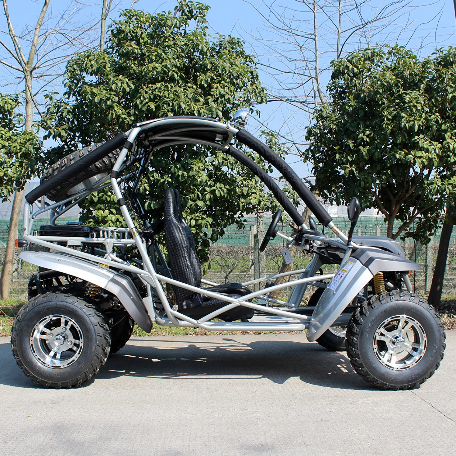 Amazon com : DONGFANG GO-KART DF200GKR 169CC Off Road Sports Buggy