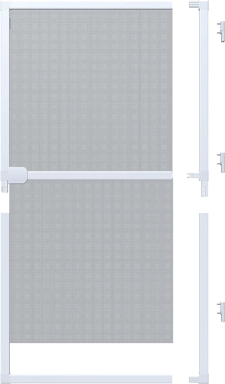 Windhager Rhino Screen Puerta de protección contra Insectos, Marco de Aluminio acortable Individualmente, 100 x 210 cm, Blanco, 03757: Amazon.es: Bricolaje y herramientas