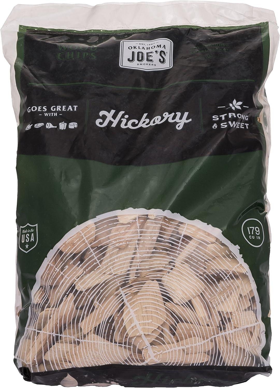 Oklahoma Joe's Hickory Wood Smoker Chips, 2-Pound Bag : Garden & Outdoor
