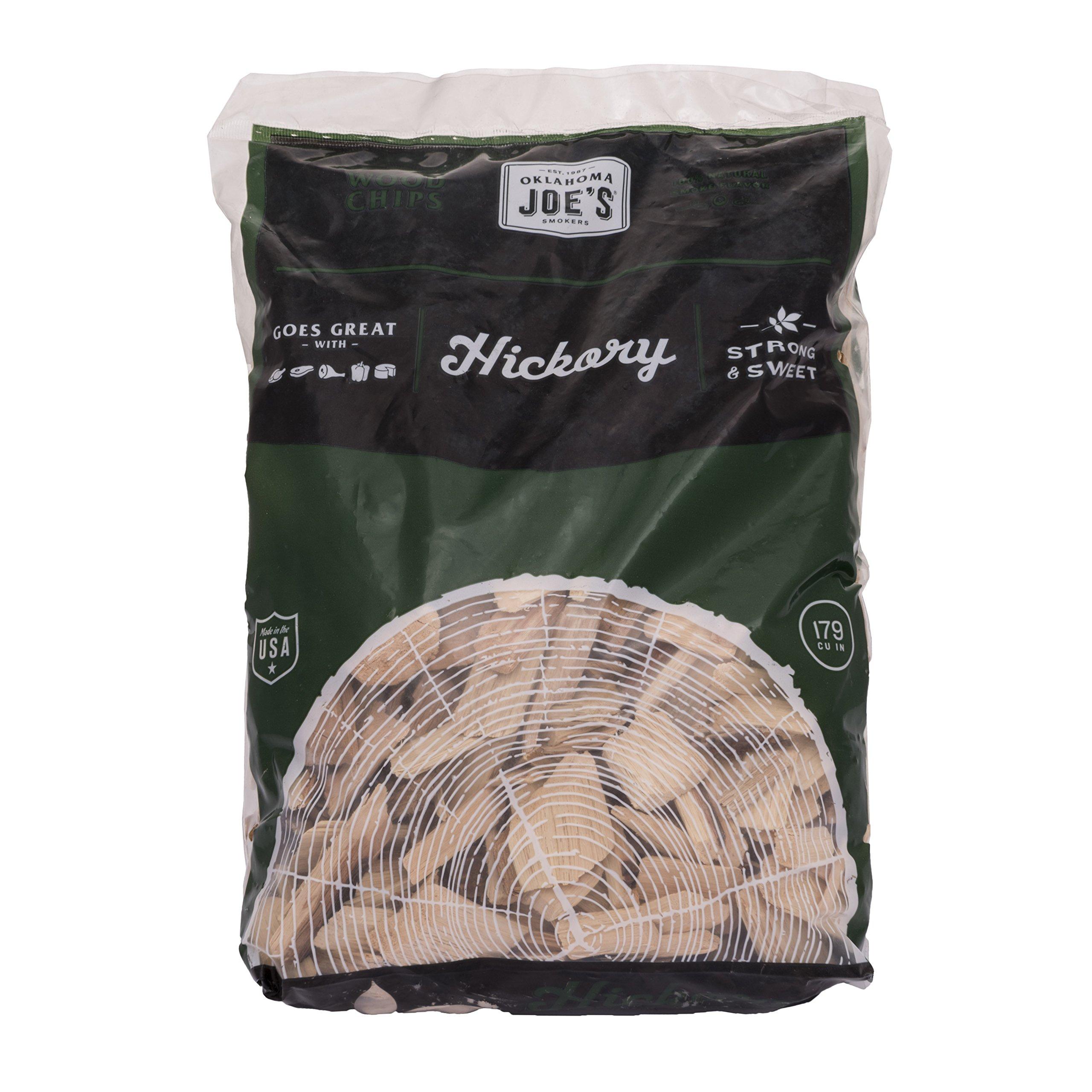 Oklahoma Joe's Hickory Wood Smoker Chips, 2-Pound Bag