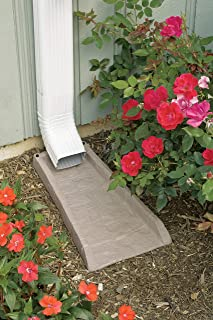 product image for Suncast SB24 Rain Gutter Downspout Splash Block, Light Taupe