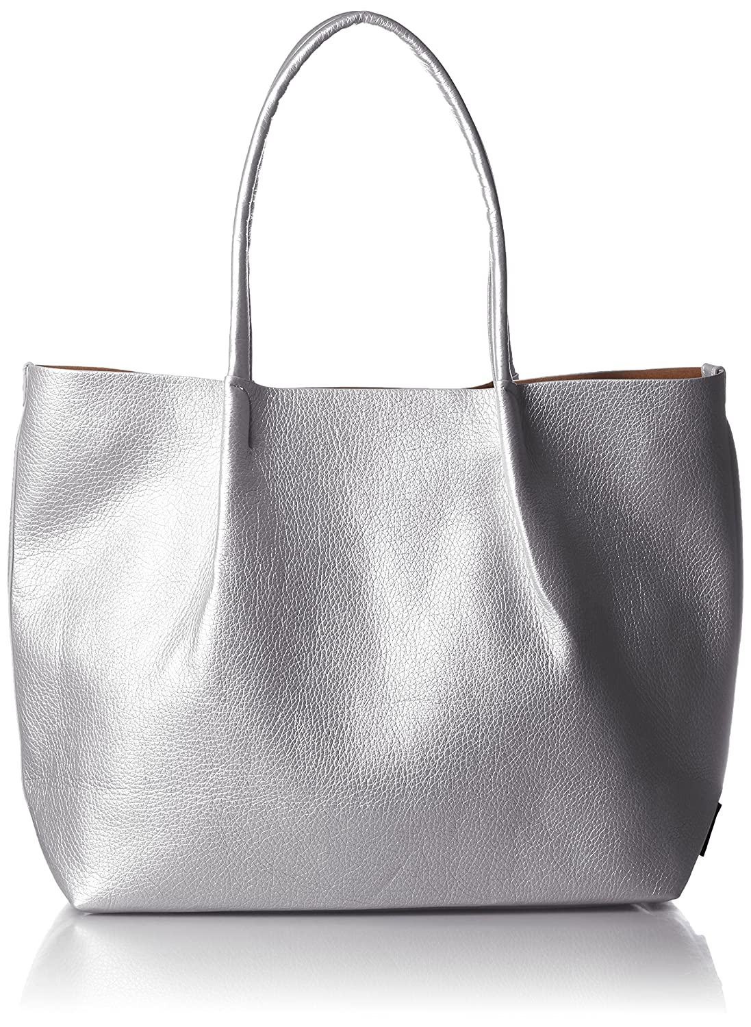 ROOTOTE Women s Synthetic Leather Totebag One Size Silver